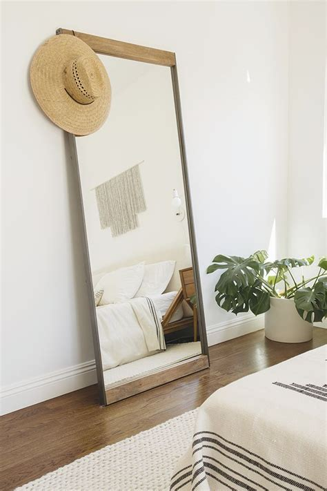 25 best ideas about leaning mirror on floor