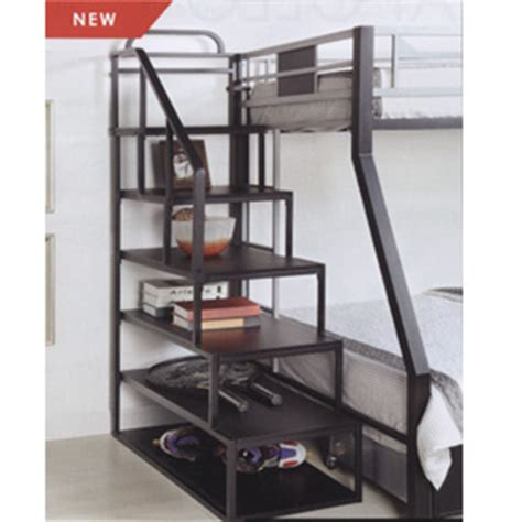 Metal Bunk Bed Ladder Custom Made Stairs For Loft Of Bunk Bed Metal Storage Ladder For Loft Or Bunk Bed Cm L1041 Iem