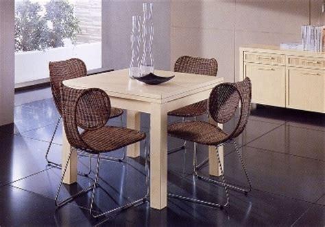 sedie in rattan da interno tavoli e sedie da interno in vimini mobili vimini e bambu