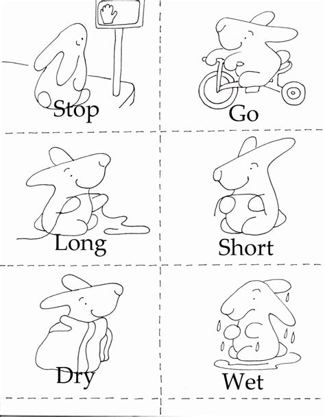 opposites coloring pages preschool opposites coloring pages coloring home