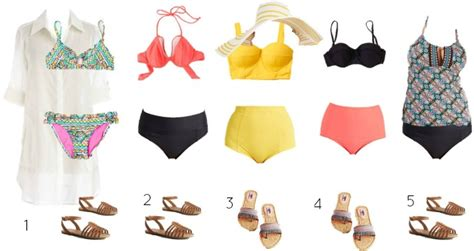 modcloth mix and match wardrobe modcloth mix and match swimsuits style on