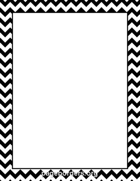 Chevron Border Classroom Ideas Pinterest Chevron Chevron Border Template