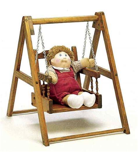 doll swing 19 w661 doll swing woodworking plan