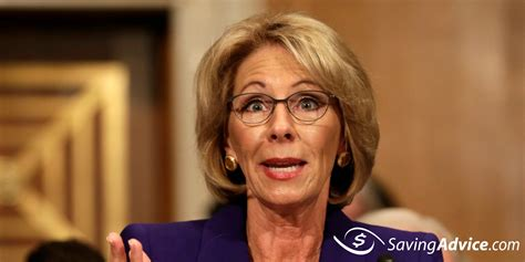 betsy devos articles betsy devos net worth saving advice saving advice