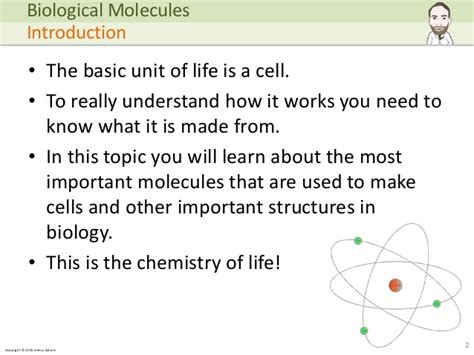Mba 2 Biological Molecules by A Level Biology Biological Molecules
