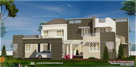 flat home design flat roof modern style homes modern house roof modern