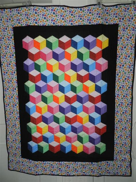 Free Tumbling Blocks Quilt Pattern by Free Tumbling Leaves Quilt Block Pattern Paper