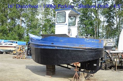 boat sales langley dozerboat small tug 1956 used boat for sale in langley