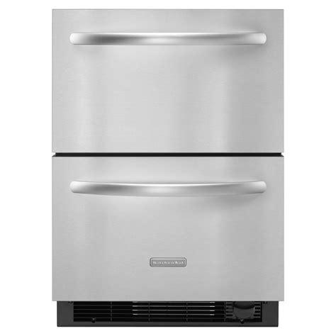Freezer Drawer With Maker by Kitchenaid Kddc24cvs 4 8 Cu Ft Refrigerator Freezer