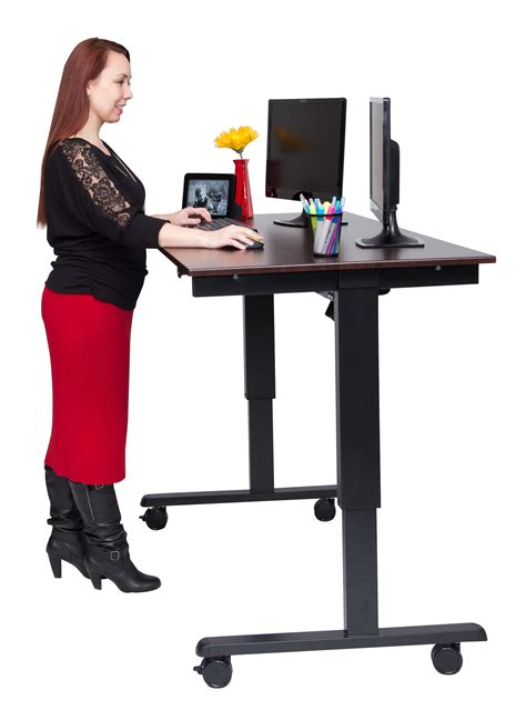 automatic stand up desk motorized stand up desk make everything you motorized