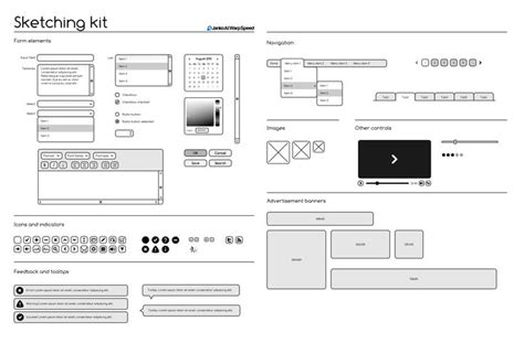 wireframes magazine 187 wireframe sketching wireframing kit is a free set of elements for