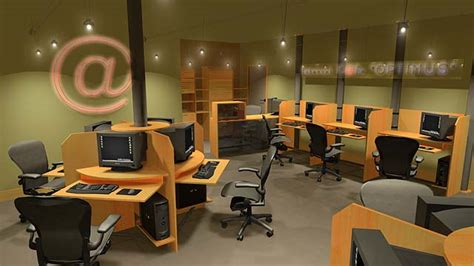 interior design for net cafe internet cafe