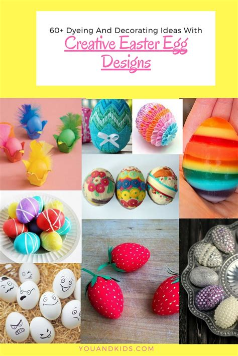 easter egg dye ideas 60 unique easter egg designs creative dyeing and