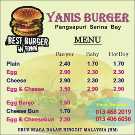 design banner burger la vintage design