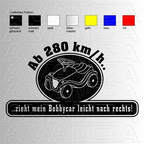 Aufkleber Bobby Car by Autoaufkleber Autosticker Bobbycar Version2 Avamba