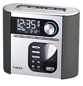 amazoncom timex ts nature sounds auto set cd clock