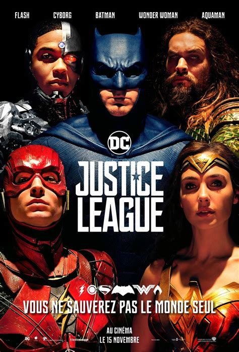 film marvel en francais justice league film 2017 allocin 233