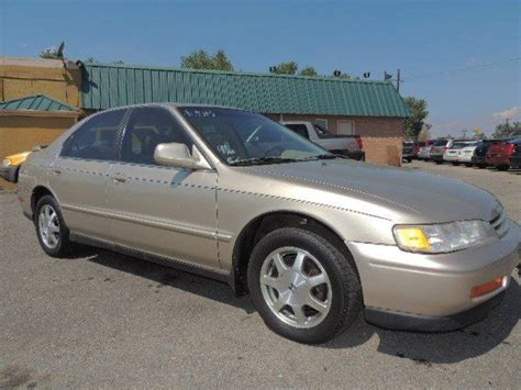 1994 honda accord ex w leather 154152 gold automatic