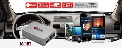 grom  multimedia mst vols ipod android aux kit volvo