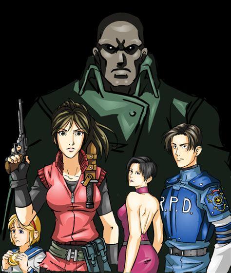 Style Anime Residen Evil resident evil 2 by crossabre on deviantart