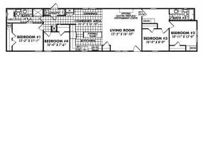 18 Wide Mobile Home Floor Plans 18 Foot Wide Mobile Home Floor Plans 18 Wide Mobile Home
