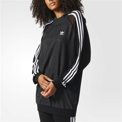 Jaket Pria Branded Hoodie Adidas Logo Black 3 stripes hoodie