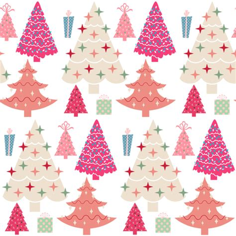 quilt pattern gift wrapped pink christmas fabric thepinkhome spoonflower