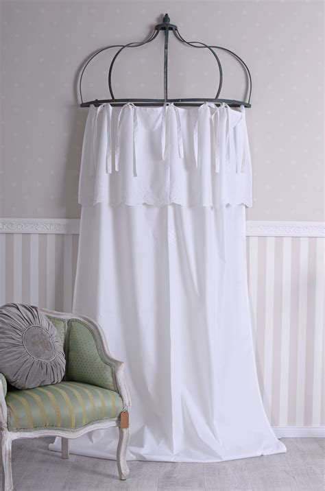 Rideau Store Blanc by Rideau Shabby Chic Gardine 224 Suspendre Boucle De Rideau