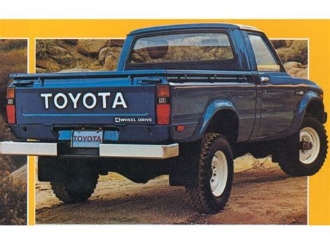toyota old truck 161 best images about toyota pickup on pinterest toyota
