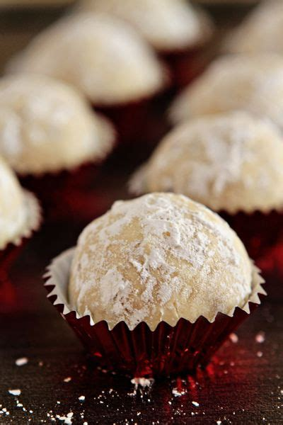 Cookies baking addict snowball cookies 2 teas cake wedding cookies