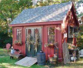 Red Shed Home Decor Concentrate On The Landscaping Around Your Garden Shed To
