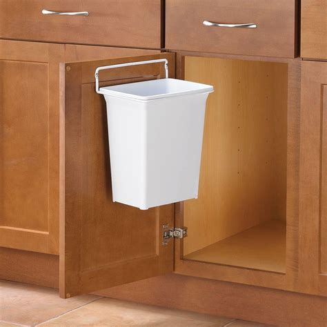 trash can cabinet dimensions knape vogt 13 in h x 10 in w x 7 in d plastic in