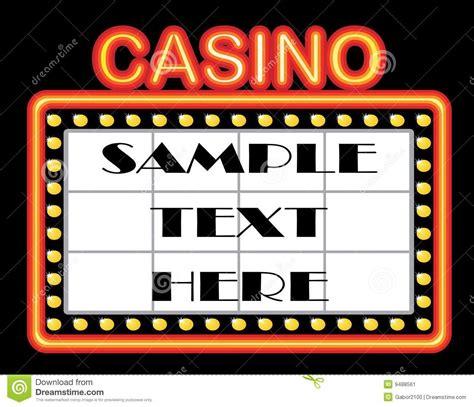 casino template casino template stock image image 9488561