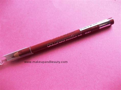 Maybelline Lip Liner Review Harga maybelline color sensational lip liner velvet beige review