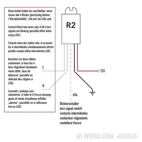 Motorrad Blinker Dauerhaft by Elektronik Kellermann R2 Relais Blinker Leuchten