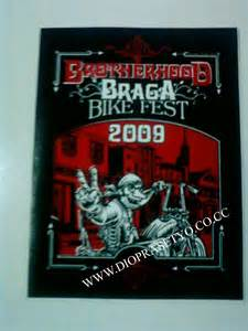 T Shirt Kaos Bikers Brotherhood Mc stiker limited edition biker s station s