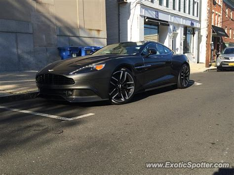 Aston Martin Connecticut by Aston Martin Vanquish Spotted In Greenwich Connecticut On