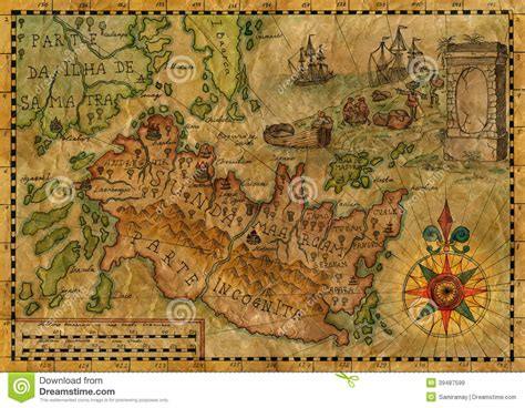 sw boat tours ocean isle map of the fantasy world 3 stock illustration image of