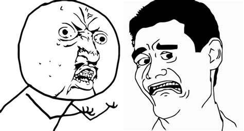 meme faces rage comics  finally explain