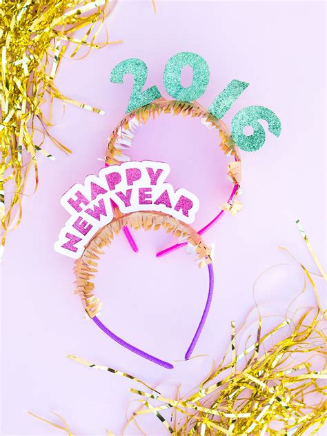 new year 2015 diy diy new year s headband hearts