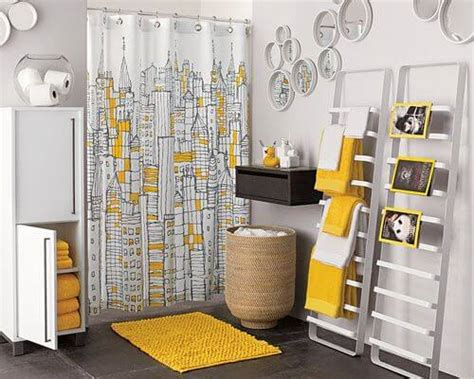 yellow and gray bathroom ideas bright inspiration the best yellow bathrooms apartment