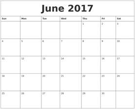 printable editable calendar june 2017 2017 calendar