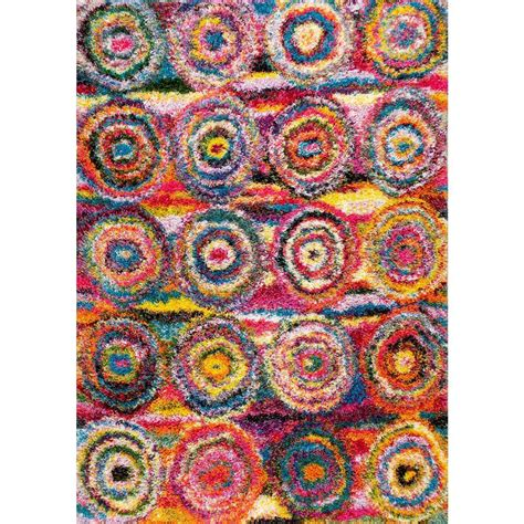 funky area rugs nuloom vintage inspired overdyed funky yellow 4 ft x 6 ft