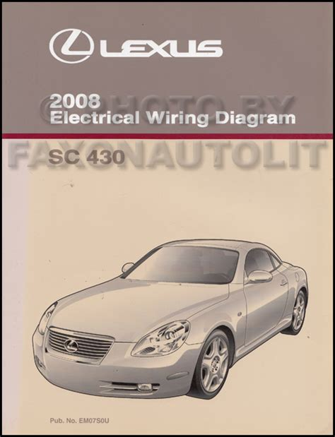 buy car manuals 2010 lexus sc navigation system 2008 lexus sc 430 navigation system owners manual original