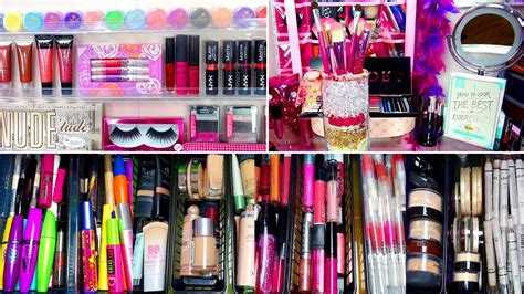 my makeup collection by glitterforever17 youtube