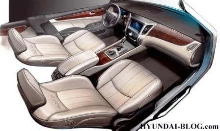 Hyundai Equus Images Leak Auto Interior Design