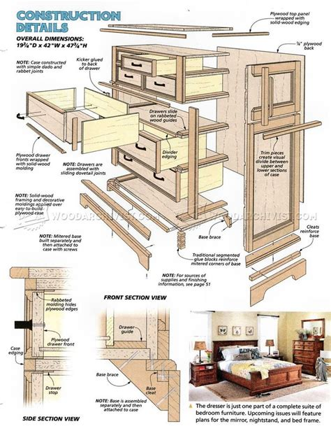 1000 ideas about dresser plans on diy table