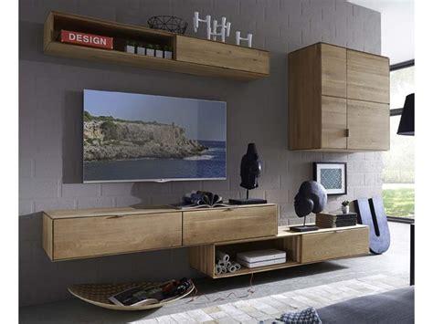 soggiorni in legno parete attrezzata tv soggiorno in legno massello di rovere
