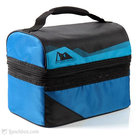 Lunch Box Blue standard insulated dome lunchbox blue lunchbox