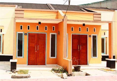 desain terbaru  kombinasi warna cat rumah bagian luar